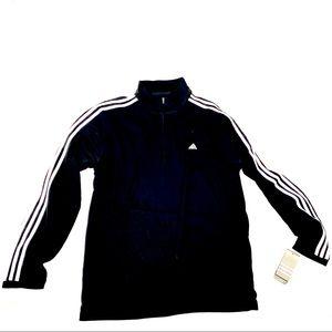 Adidas Half Zip Pullover Long Sleeve men's NWT